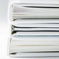 stack of financial planning books